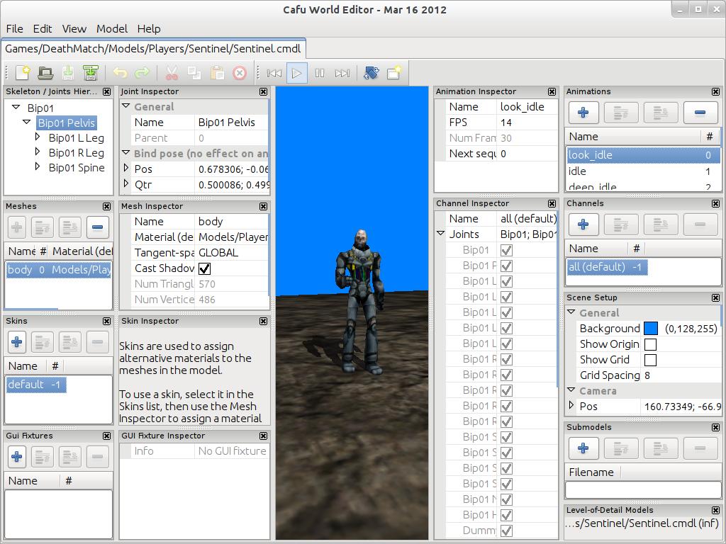 Gallery   Cafu Engine
